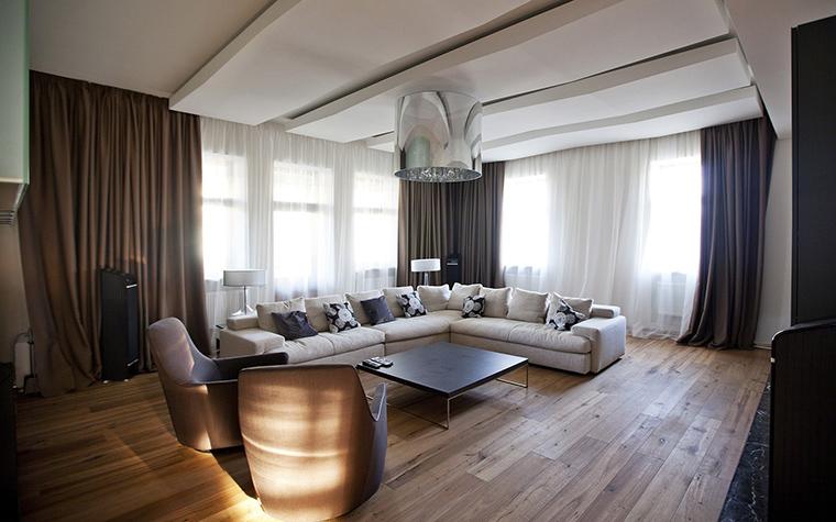 интерьер гостиной - фото № 53505