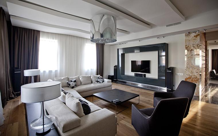 интерьер гостиной - фото № 53508