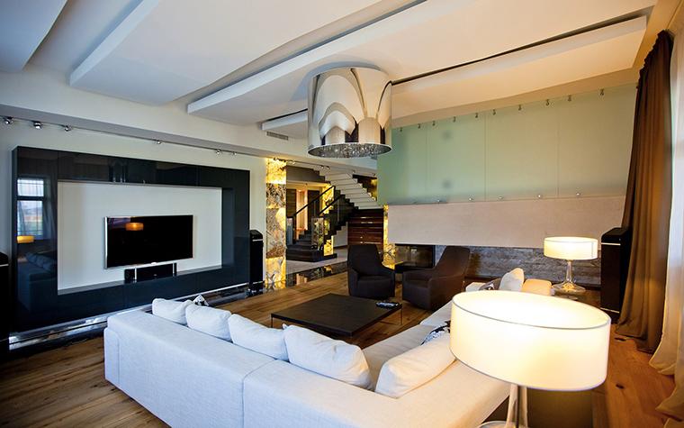 интерьер гостиной - фото № 53509