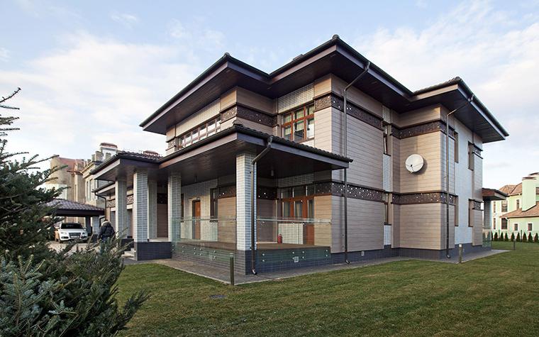 Фото № 53560 фасад  Загородный дом
