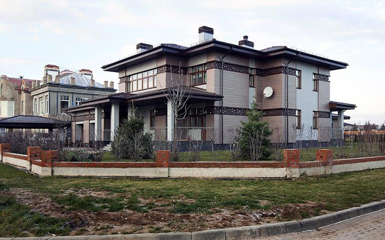 Фото № 53565 фасад  Загородный дом