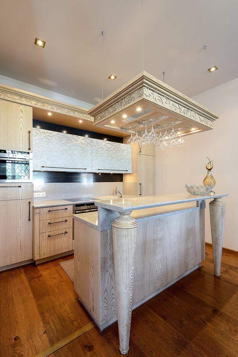 Фото № 53846 кухня  Загородный дом