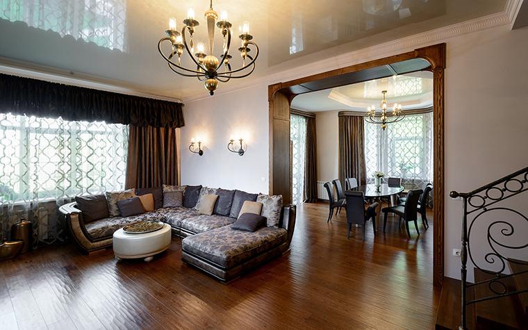 интерьер гостиной - фото № 53849