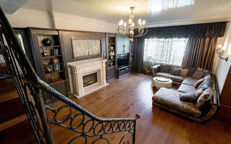 Фото № 53850 гостиная  Загородный дом