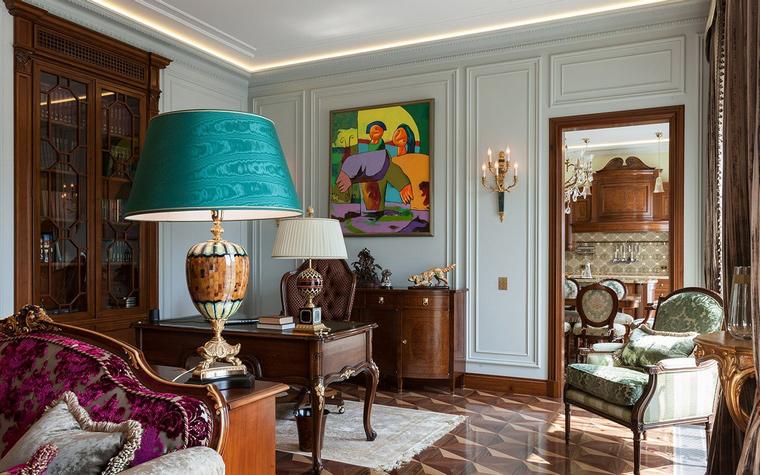 Квартира. гостиная из проекта , фото №54157