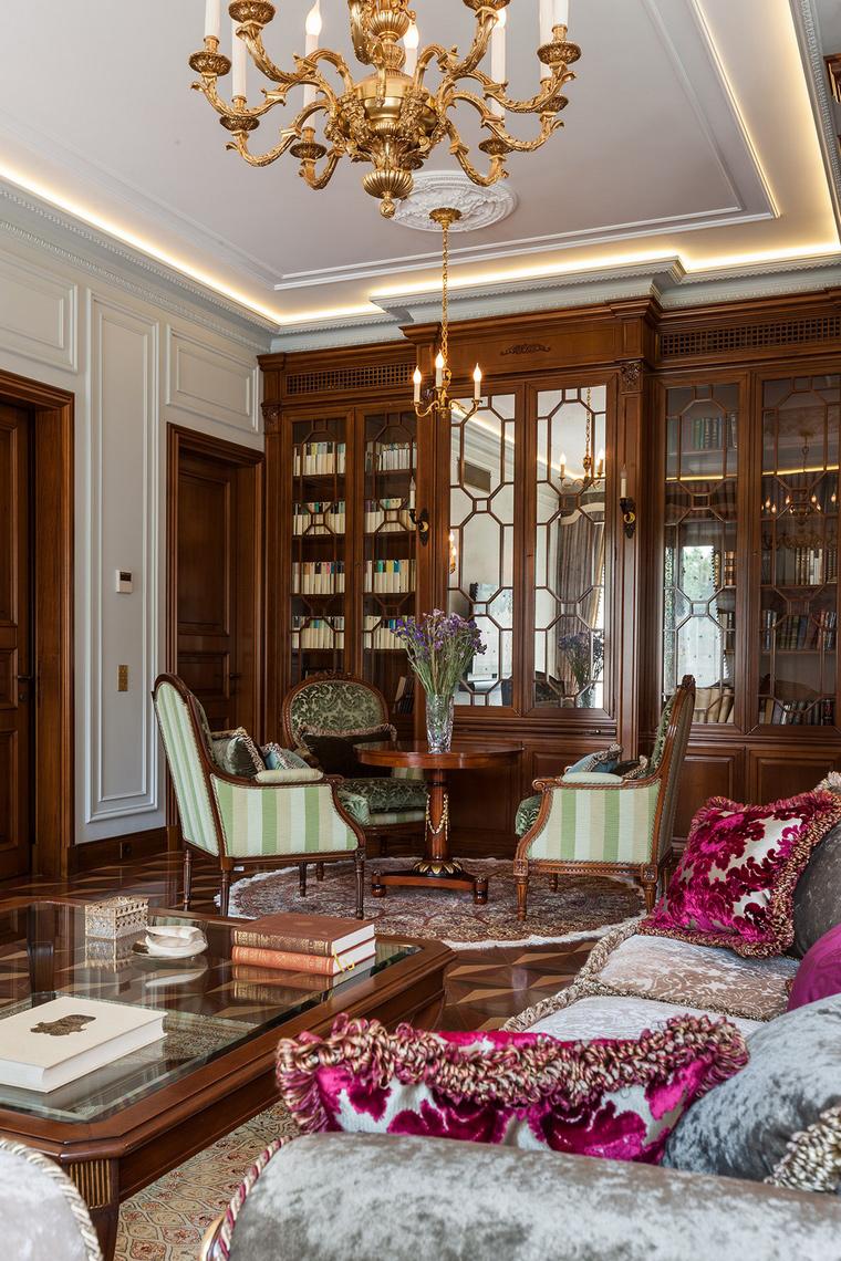 Квартира. гостиная из проекта , фото №54159