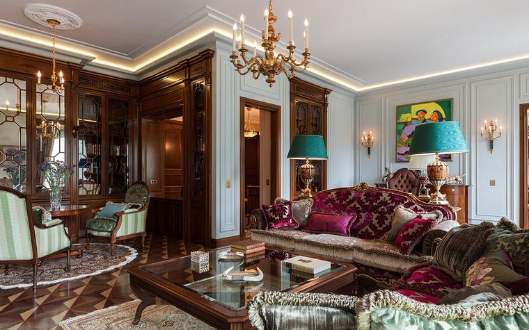 Квартира. гостиная из проекта , фото №54160