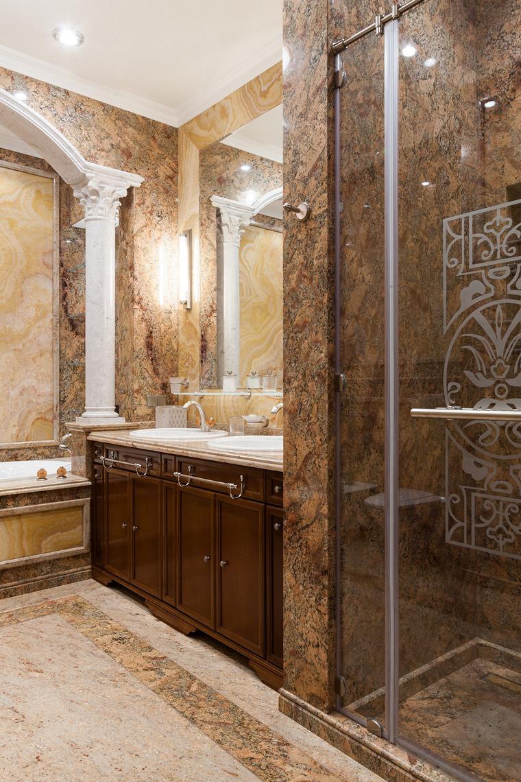 Фото № 54173 ванная  Квартира
