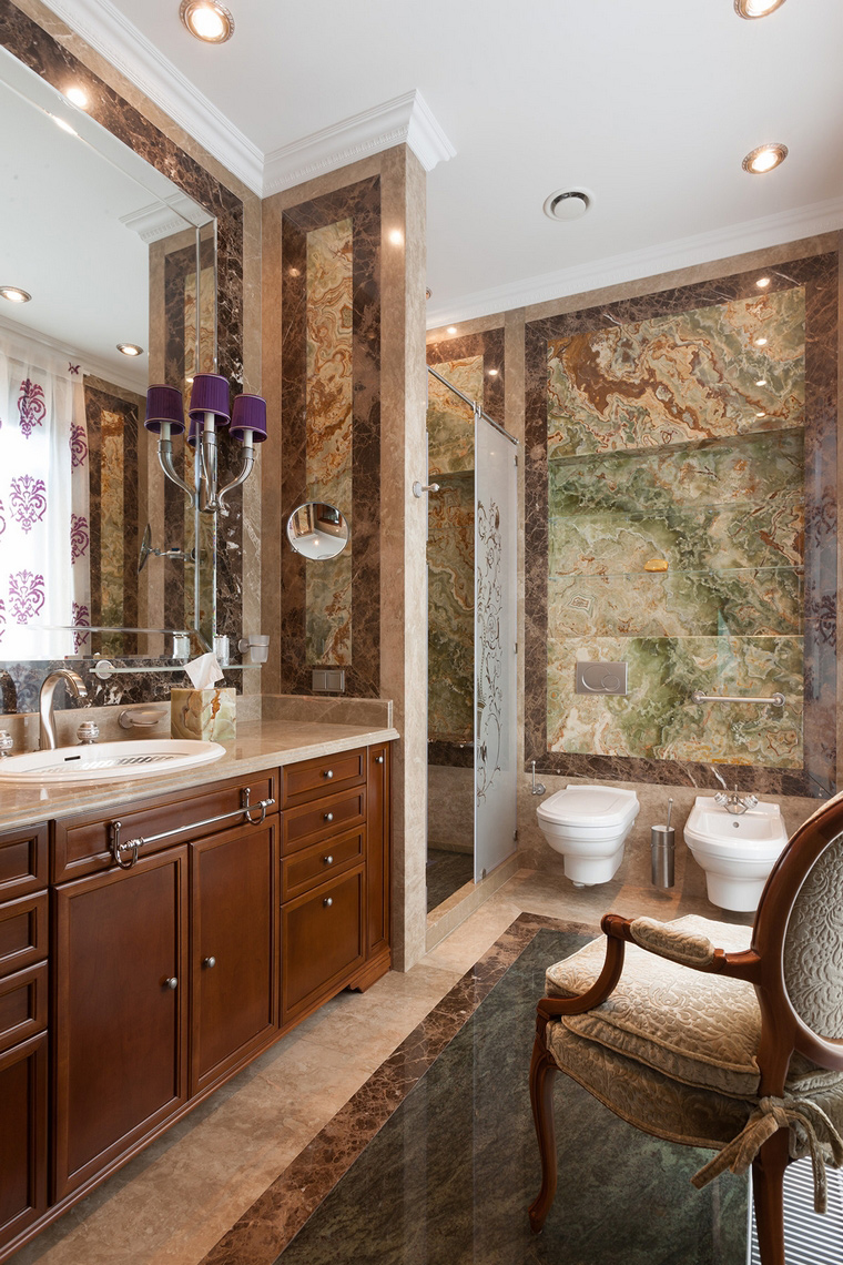 Квартира. ванная из проекта , фото №54174