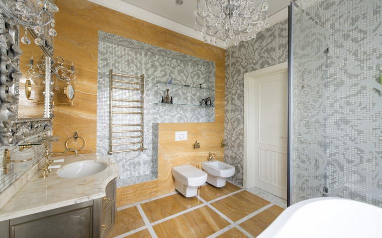 Фото № 54290 ванная  Загородный дом