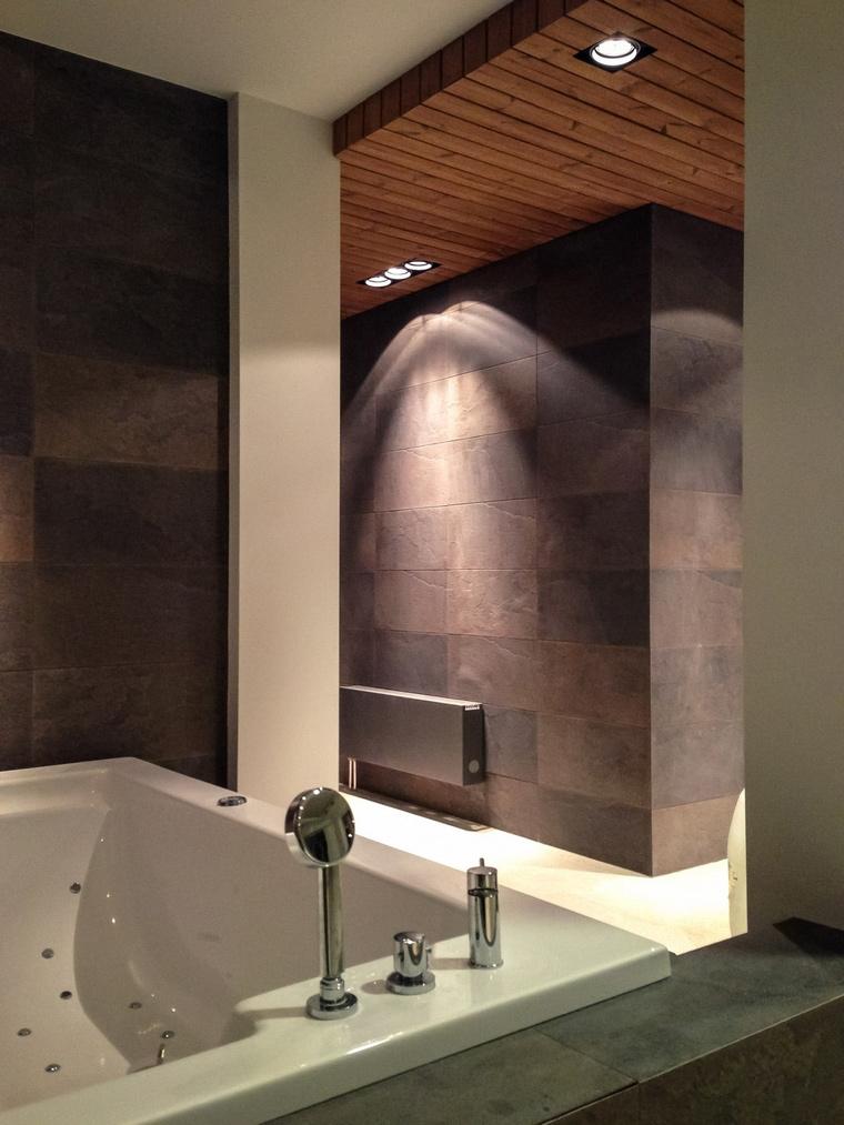 Фото № 54300 ванная  Загородный дом