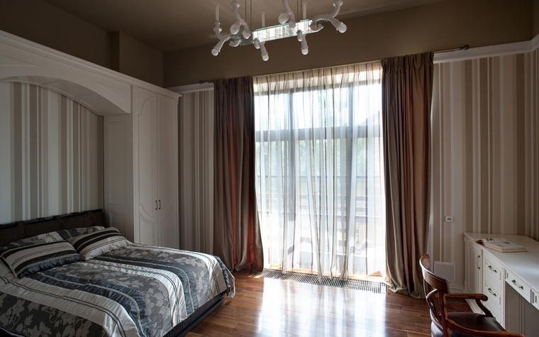 Загородный дом. спальня из проекта , фото №54400