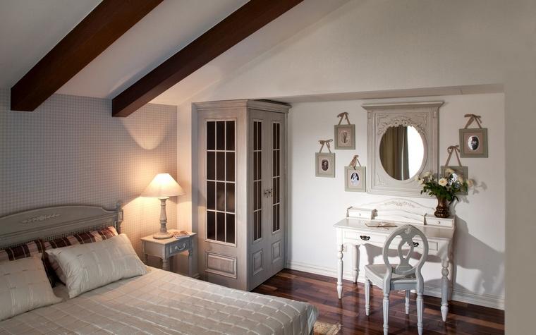 интерьер спальни - фото № 54402