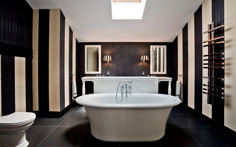 Фото № 54404 ванная  Загородный дом