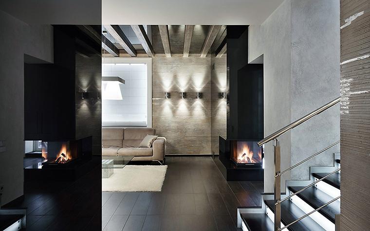 интерьер гостиной - фото № 54656