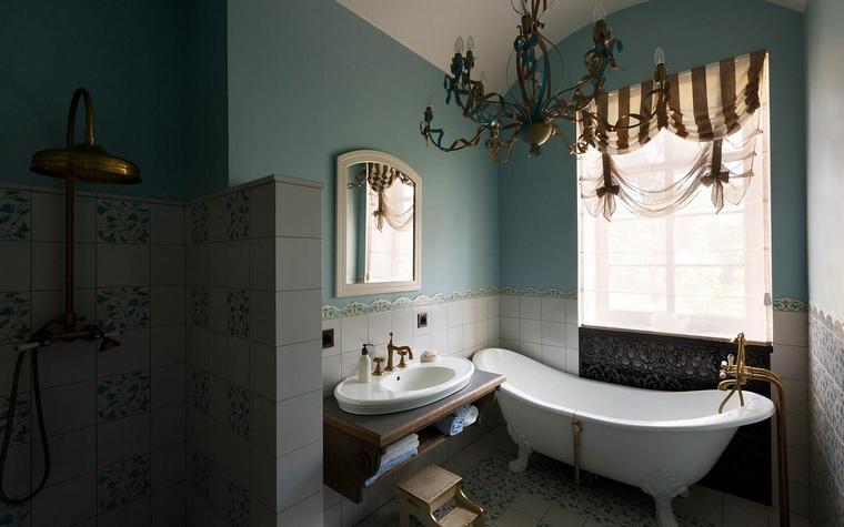 Фото № 54874 ванная  Загородный дом