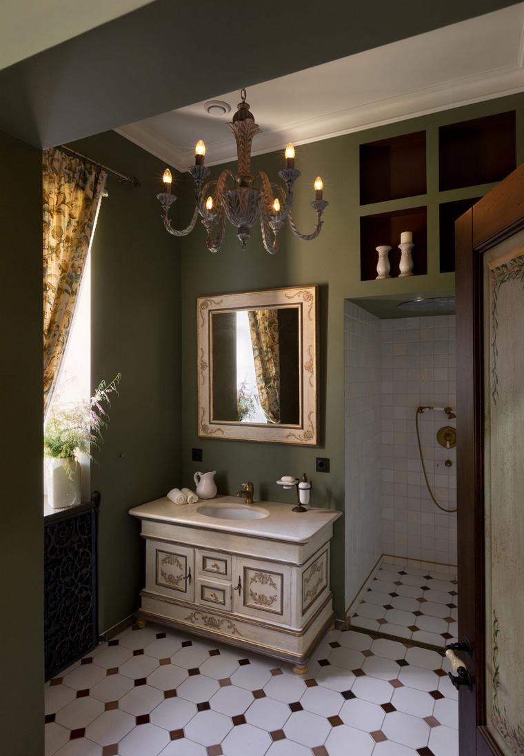 Фото № 54873 ванная  Загородный дом
