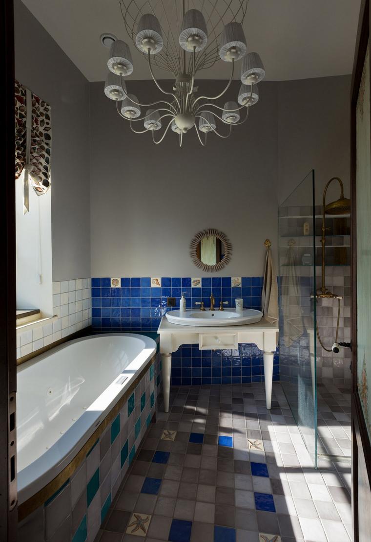 Фото № 54869 ванная  Загородный дом