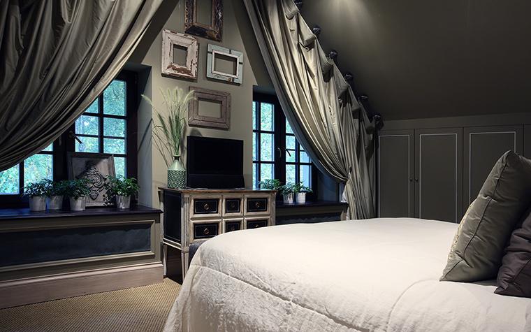 Фото № 55448 спальня  Загородный дом