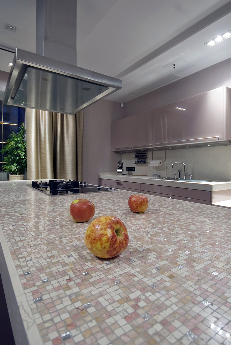 Фото № 55761 кухня  Загородный дом