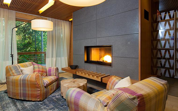 Загородный дом. гостиная из проекта , фото №55813
