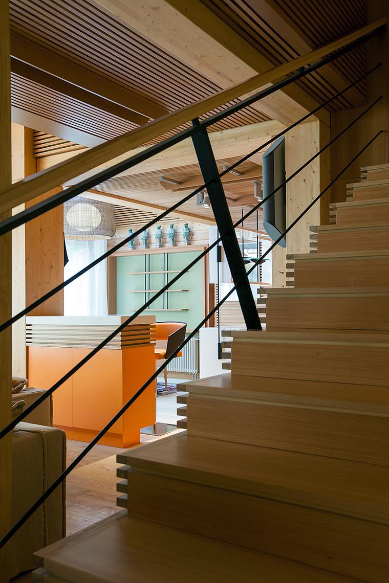 Загородный дом. холл из проекта , фото №55815