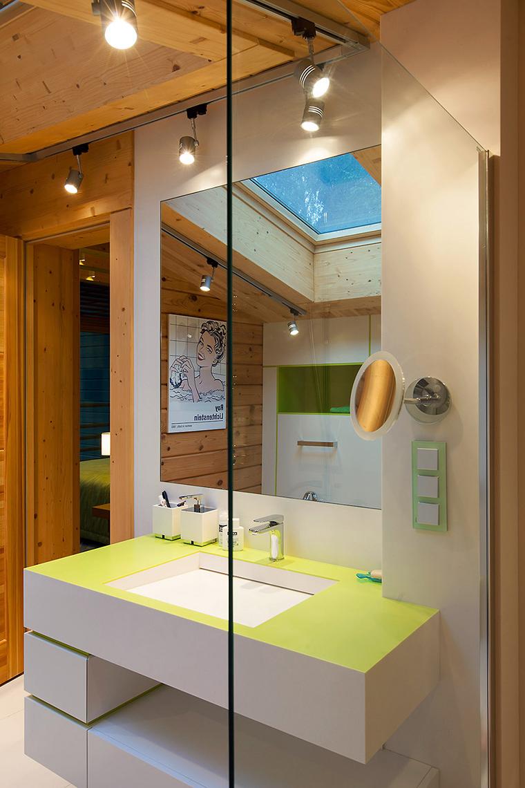 Загородный дом. ванная из проекта , фото №55819
