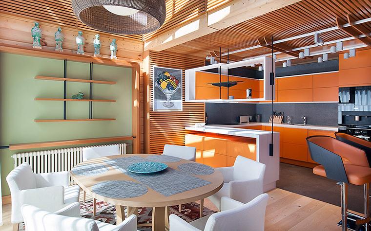 Загородный дом. столовая из проекта , фото №55809