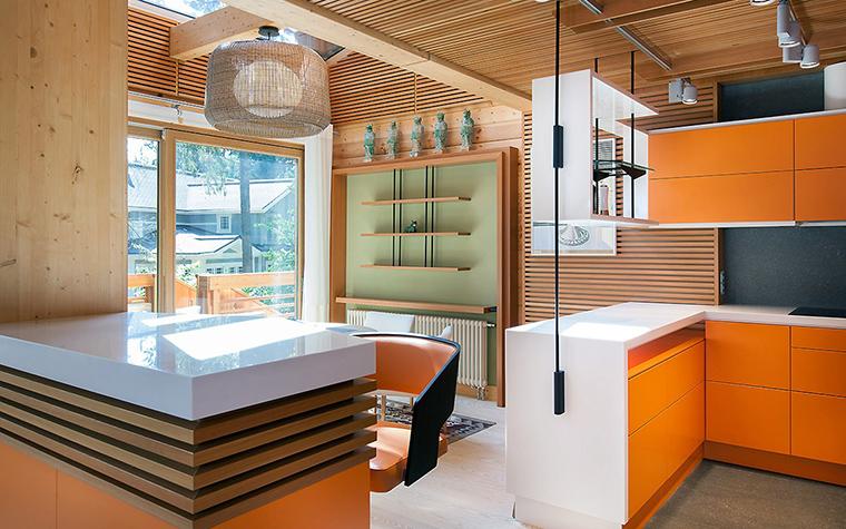 Загородный дом. кухня из проекта , фото №55810