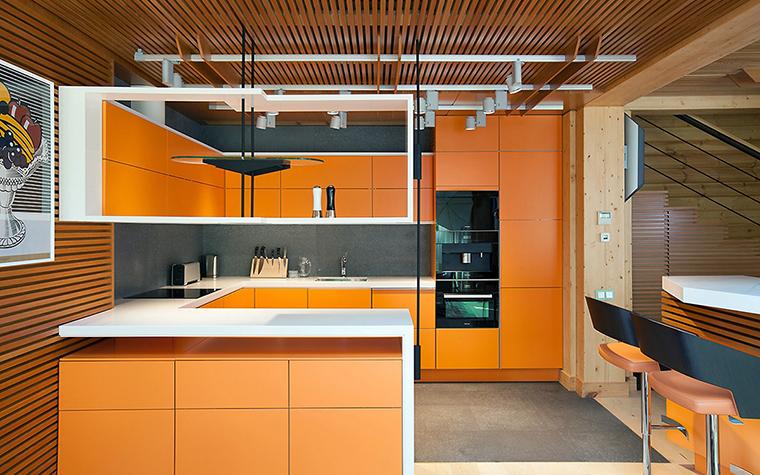 Загородный дом. кухня из проекта , фото №55812