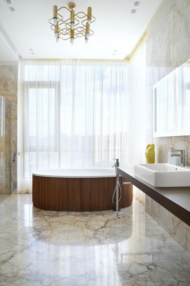 Фото № 55836 ванная  Загородный дом