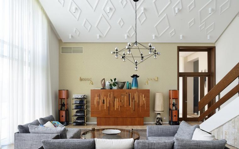 интерьер гостиной - фото № 55823