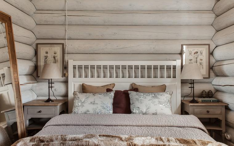 Фото № 55896 спальня  Загородный дом