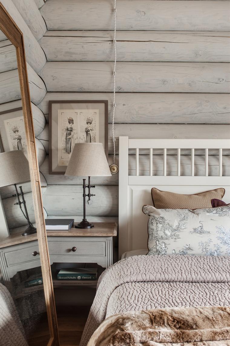 Фото № 55897 спальня  Загородный дом