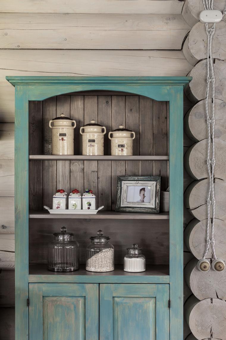 Фото № 55892 кухня  Загородный дом