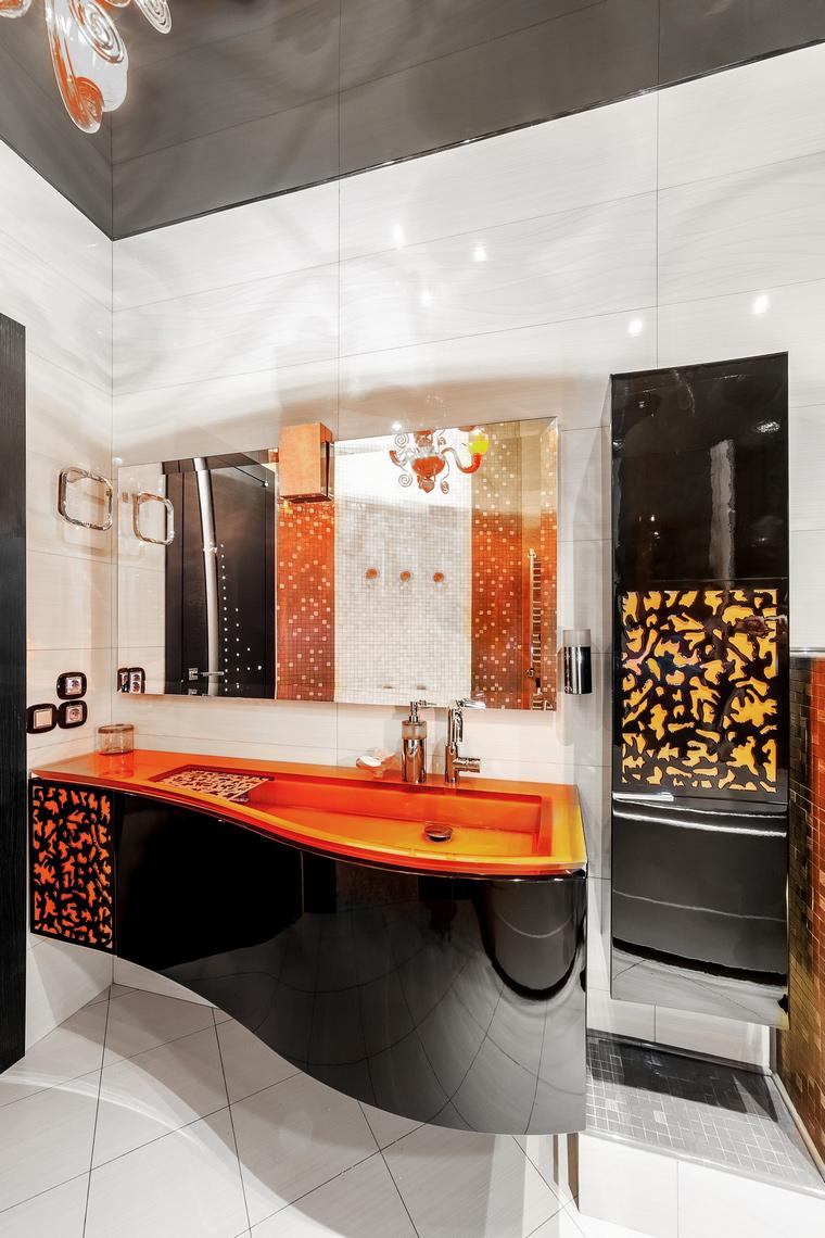Фото № 55989 ванная  Загородный дом