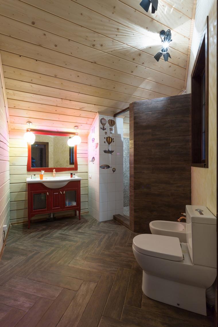 Фото № 56050 ванная  Загородный дом