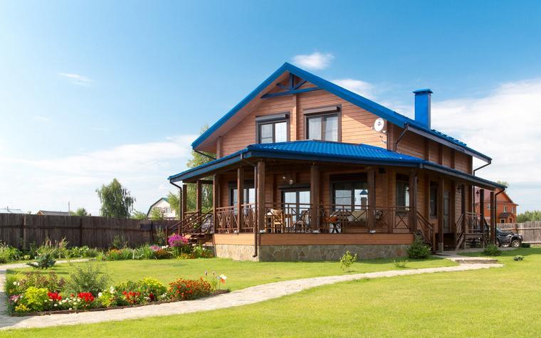 Варианты и фото готовых брусовых домов