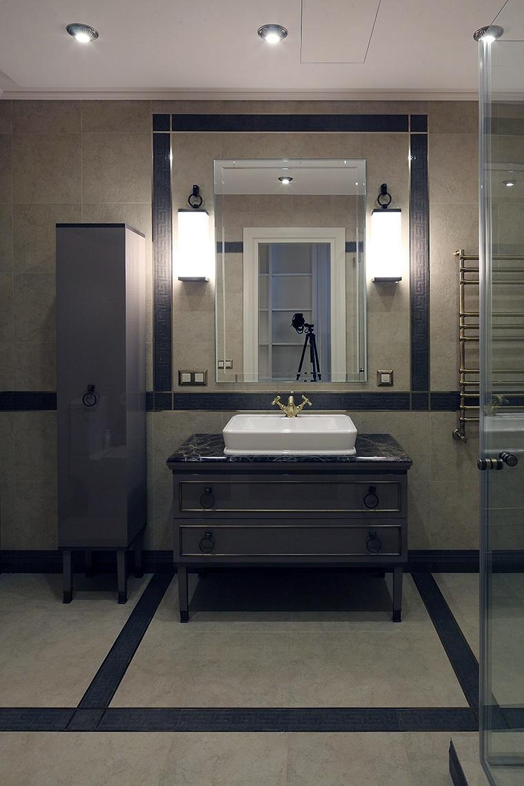 Фото № 56178 ванная  Загородный дом