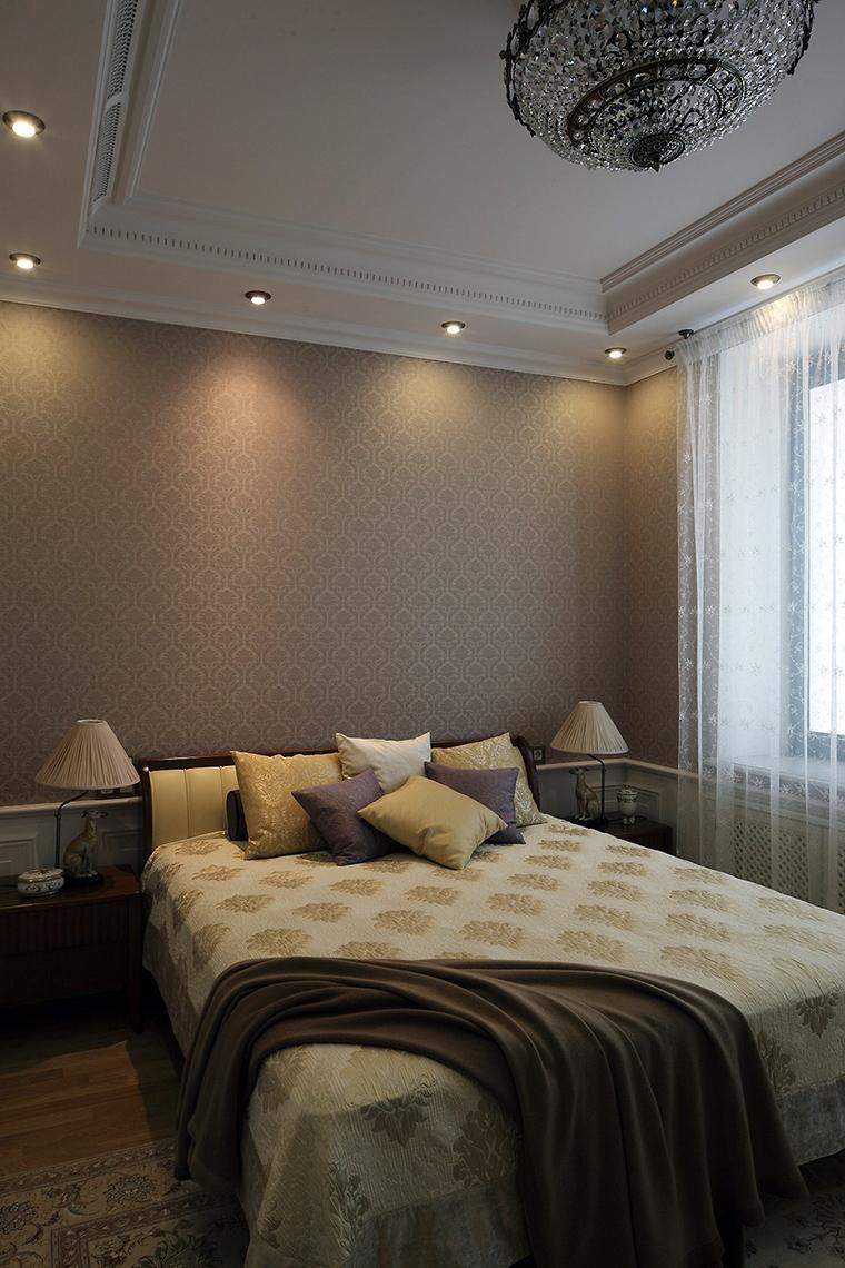 интерьер спальни - фото № 56177