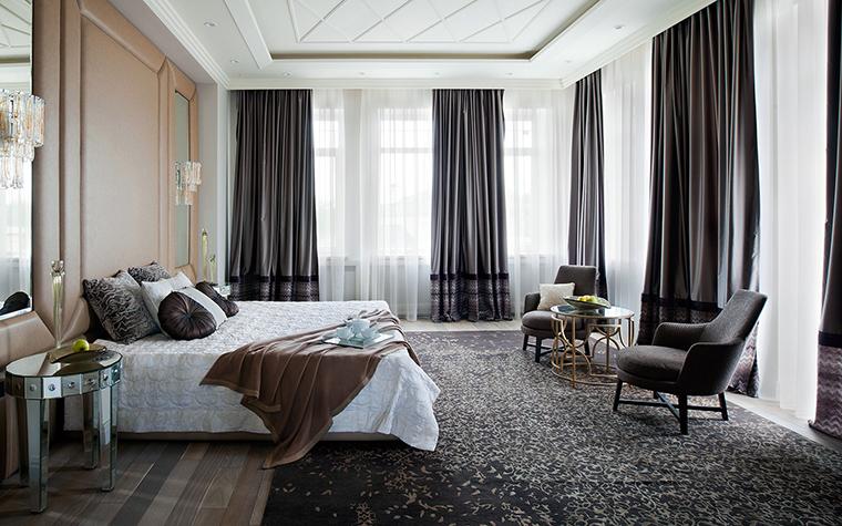 интерьер спальни - фото № 56244