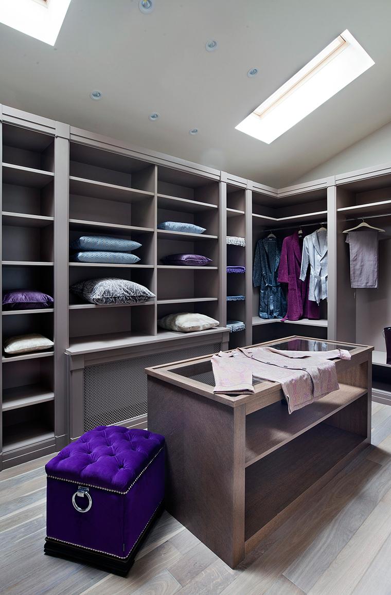 интерьер гардеробной - фото № 56249