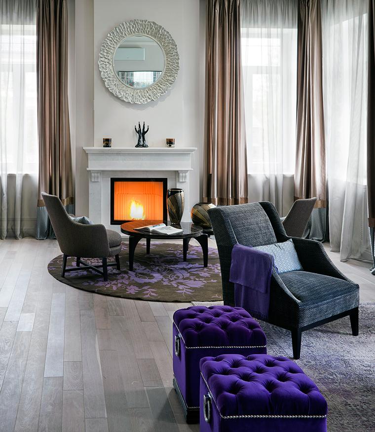 интерьер гостиной - фото № 56231