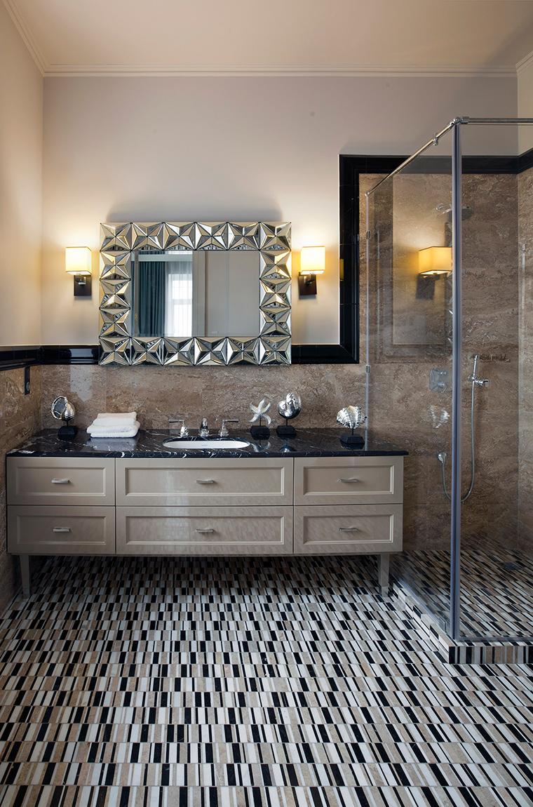 Фото № 56255 ванная  Загородный дом