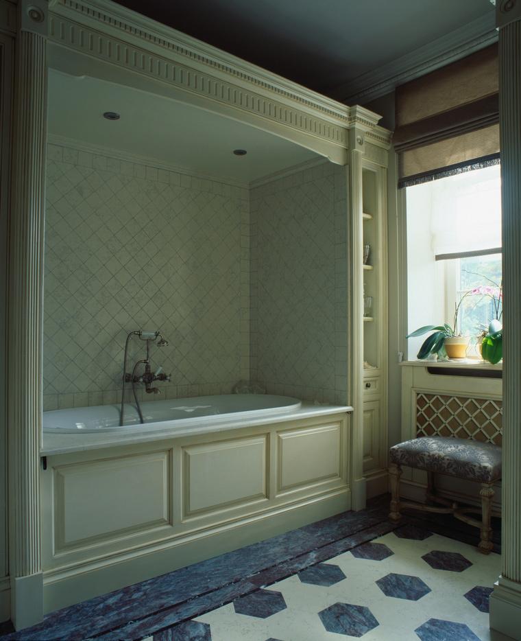 Фото № 56763 ванная  Загородный дом