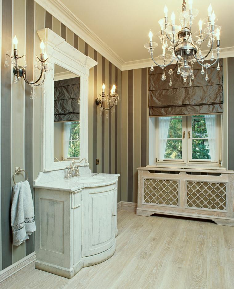Фото № 56762 ванная  Загородный дом