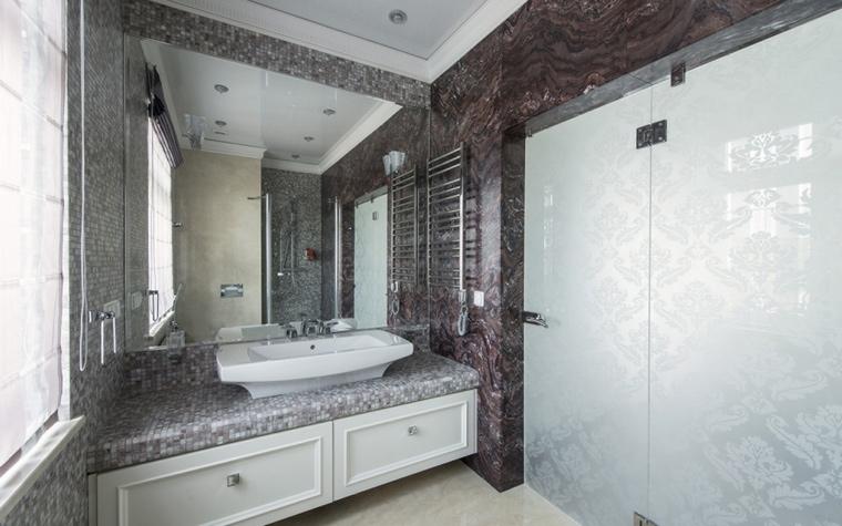 Фото № 56777 ванная  Загородный дом