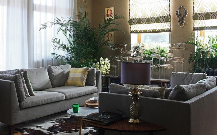 интерьер гостиной - фото № 56857