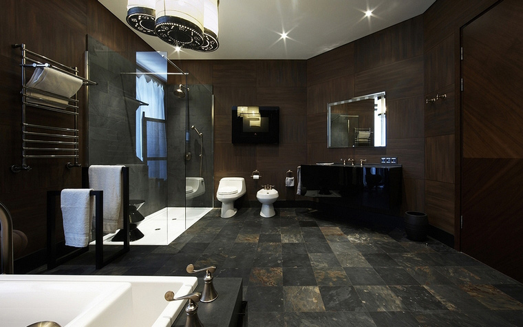 Фото № 56905 ванная  Загородный дом