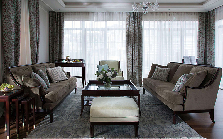интерьер гостиной - фото № 56935
